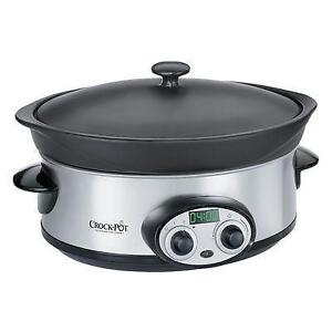 Like New Crock Pot Versaware 6 Qt Slow Cooker PICKUP ONLY - PU7