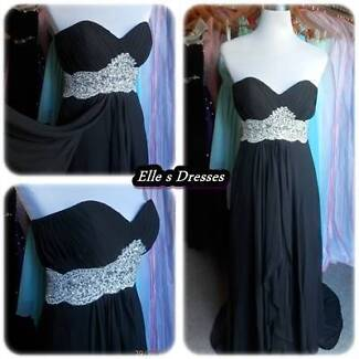 Black strapless formal dresses Beenleigh Logan Area Preview