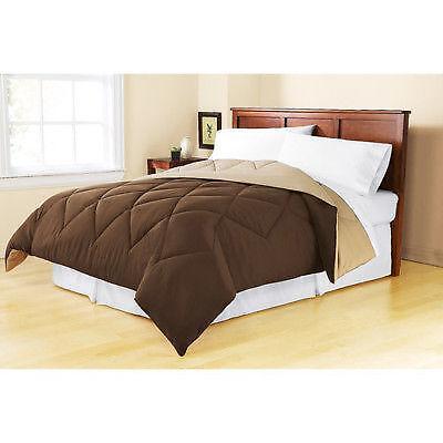 Twin Comforter Set Brown Ebay