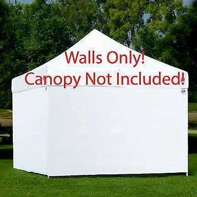 Ez Up Canopy Sidewalls Ebay