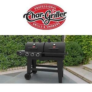 NEW CG 3 BURNER GAS/CHARCOAL GRILL - 125205061 - BARBECUE CHAR GRILLER 1280SQ