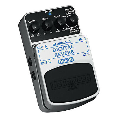 DR600 Digital Reverb Effects Pedal