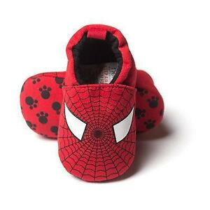 "Brand New- Soft Slip On ""Spiderman"" Baby Shoes/Slippers."