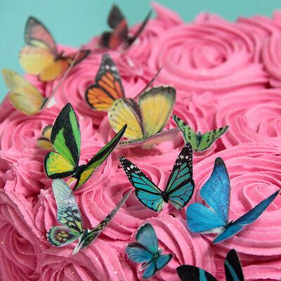 Schmetterlinge aus Esspapier