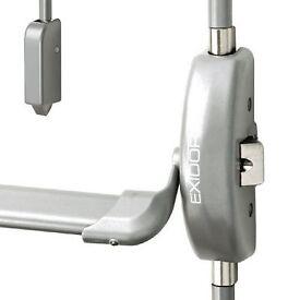 Exidor 513-B Silver Push Bar