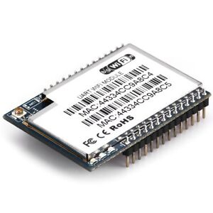 Hlk rm04 wifi module serial uart to ethernet wifi for arduino