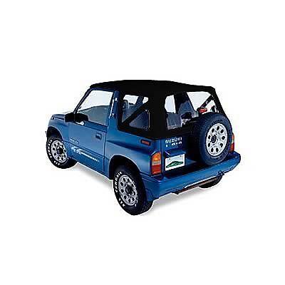 Suzuki Vitara Soft Top 1988-00 - Black, NEW, In-stock Australia, FREE delivery
