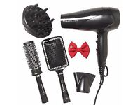 XMAS Gift pack HairDryer Styling kit Remington Turn Up The Volume hairdryer Haircare Hair NEW sky