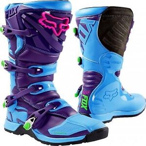 Wanted: Fox Boots - Youth Comp 5 - blue and purple