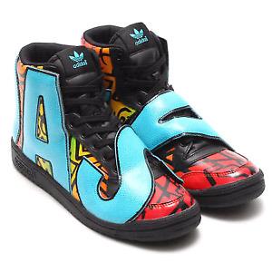 Rare Authentic Jeremy Scott x Adidas Big Letters Shoes