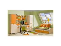 Nemo Children and Youth Furniture System Orange
