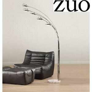 NEW* ZUO COSMIC CHROME FLOOR LAMP - 110687490