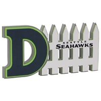 Seattle Seahawks 3D Foam Defense Sign With Hand Strap (New)