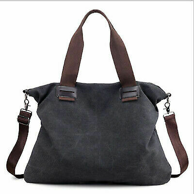 Women Canvas Bags Shoulder Tote Messenger Satchel Bag Cross Body Handbag NEW US
