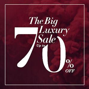 The Big Luxury Sale - Upto 70% Off on Designer Womenswear