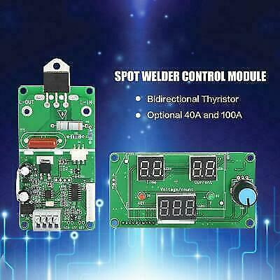 Spot Welder Time Control Board Current Controller With Digital Display 40100a