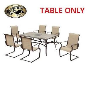 NEW HAMPTON BAY PATIO DINING TABLE FCS80242-ST 189222826 BELLEVILLE