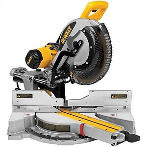 DEWALT 12-in Double-Bevel Sliding Compound Mitre Saw (DW708)