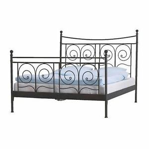 Ikea King Size Bed w/ Slats