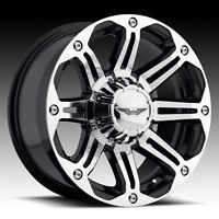 NEW 17X8 EAGLE WHEELS 6X5.5 AND 6X135mm BOLT PATTERNS