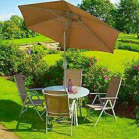 4 Seater Carmel 5pc Garden set