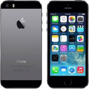 IPHONE 5S 16G NOIR À VENDRE COMME NEUF.avec TELUS/KOODO/PUBLIC MOBILE à 175$