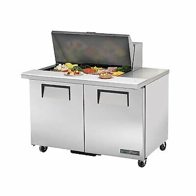 True Tssu-48-15m-b-hc 48 Mega Top Sandwich Salad Unit Refrigerated Counter