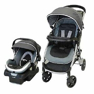 Safety first step and go 2 stroller and car seat (poussette)