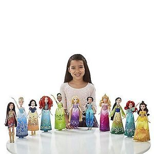 11 new Disney Princess dolls  Shimmering Dreams Collection Pack