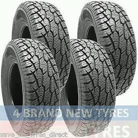 245 70 17 set of 4 AT new tyres