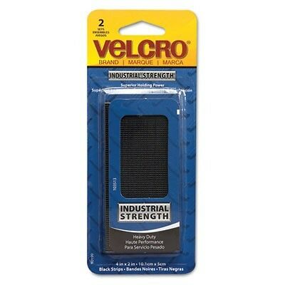 (Velcro Industrial Strength Sticky-Back Hook & Loop Fastener Strips - 90199)