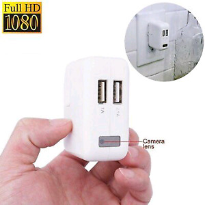High definition usb charger spy camera with motion and wifi