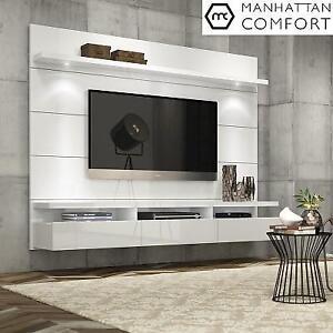 NEW MC ENTERTAINMENT CENTER - 129156821 - MANHATTAN COMFORT CABRINI WHITE