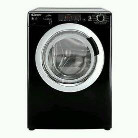 GRADED:: CANDY WASHER DRYER GVSW496DCAB 9KG/6KG 1400 SPIN - BLACK WITH 12 MONTHS WARRANTY