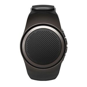 New Bluetooth Speaker Black Watch / Selfie Shutter battery