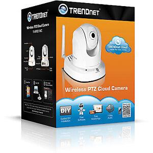 TRENDnet TV IP851WC Wireless PTZ Cloud Camera - netw. surv. cam.