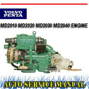 volvo penta md2010 md2020 md2030 md2040 engine service