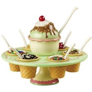 LAZY SUSAN ice cream server