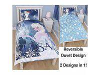 Disney Frozen 'Elsa' Reversible Single Duvet Cover Set