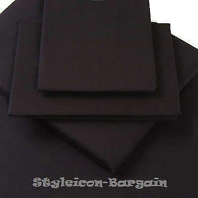 Black King Size Fitted Sheet Ebay