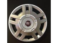 Wheel trims 15 inch for Motorhome campervan fiat, boxer, relay etc 15 inch genuine wheel trims.