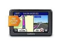 Garmin 2515 Sat Nav with free lifetime updates UK and Ireland Maps and Bluetooth