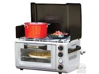 Coleman Signiture Combo Camp Stove & Oven BRAND NEW STOCK CLEARANCE