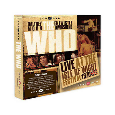The Who : Live at the IOW Festival 1970 CD Album with DVD 3 discs (2013)