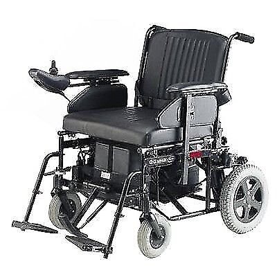 Heavy Duty 25 Stone Capacity Invacare Harrier HXD Electric Wheelchair-Easily Portable Amazing Batts