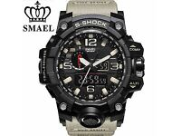 BRAND NEW SMAEL MILITARY WATCH ANALOGUE AND DIGITAL DISPLAY