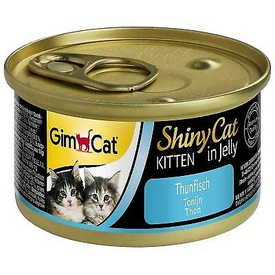 Gimcat Shinycat Kitten In Tuna 24 X Cans 70g Wet Kitten Food 7 In