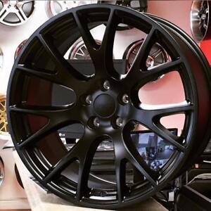 20 inch HellCat Replica Wheels GLOSS BLACK (4 New 899 + tax ) 20x9.5 @Zracing 905 673 2828 Rim Tire Package $1500 + Tax