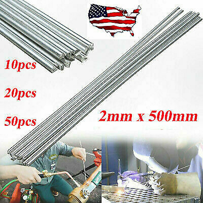 50 Pcs Durafix Aluminium Welding Rods Fast Easy Soldering Low Temperature