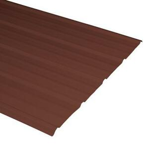 Brown Steel Roofing/Siding